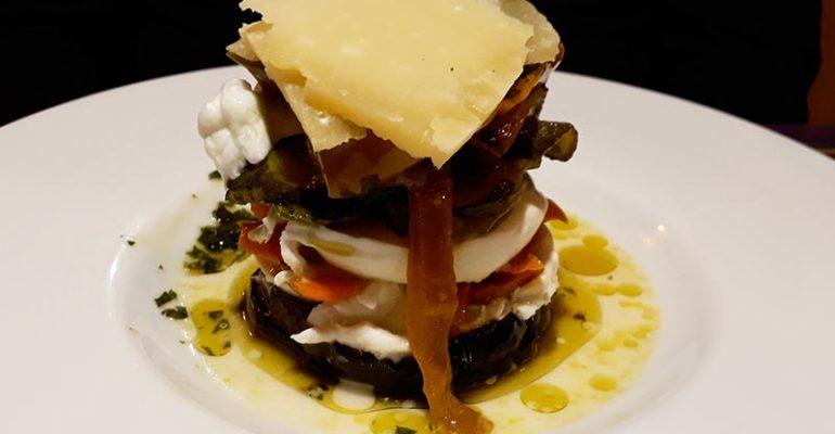 Assiette gourmande dans restaurant L'italie à vélo Abicyclette Voyages