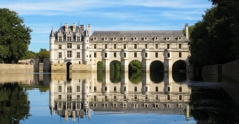 chenonceau a velo
