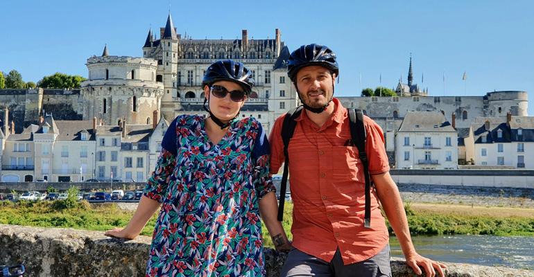 Amboise séjour à vélo