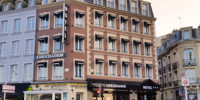 Façade hôtel ambassadeur à Cherbourg