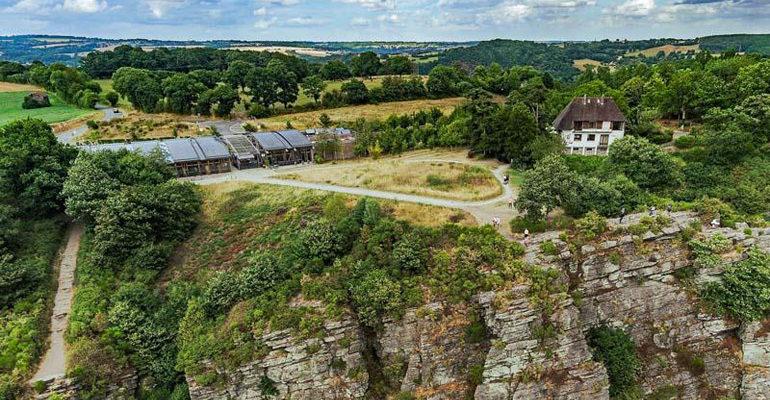 Site de la Roche d'Oëtre - St Philbert sur Orne, découverte vacances à vélo
