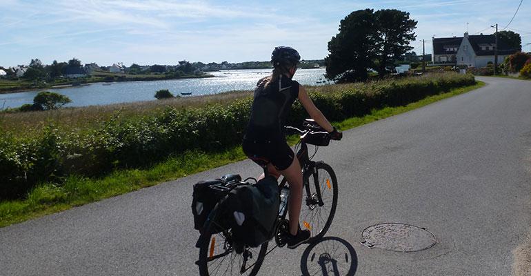 Célèbres petites routes bretonnes à vélo