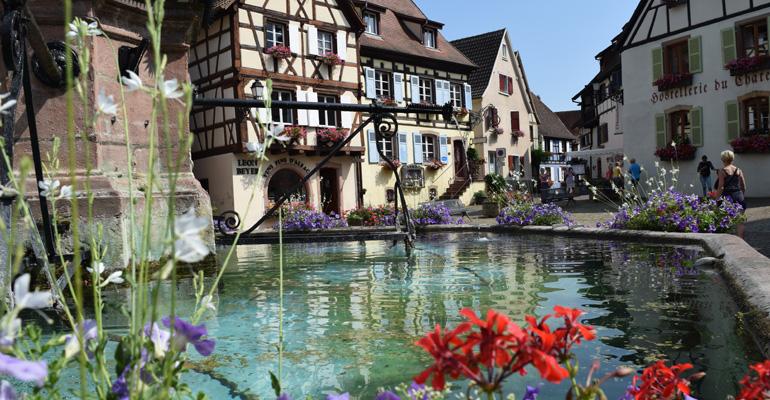 Eguisheim en fleur