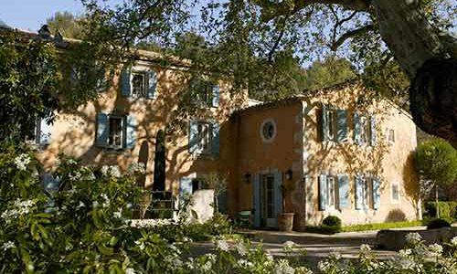Hotel Baumanière - Façade