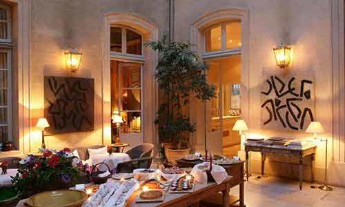 Hôtel la Mirande - Salon