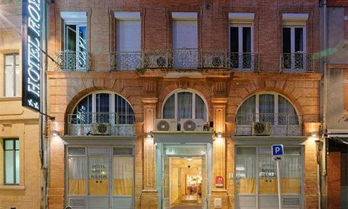 Façade de l'Hôtel Royal Wilson TOULOUSE