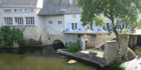 façade chambres d'hôtes Le Moulin de l'Abbesse - Thouars