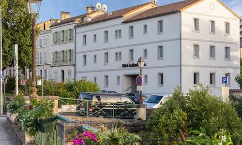 façade hôtel du moulin - Niort