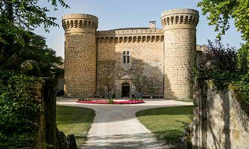 Château de Massillan - Uchaux - Façade