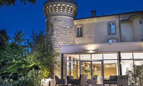 Château de Massillan - Uchaux - Nuit