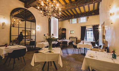 Salle des repas Hôtel Mercure Figeac
