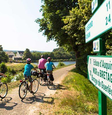 canaux et voies vertes à vélo