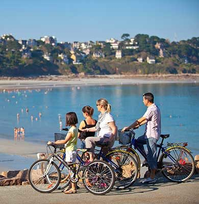 Voyage à vélo en Famille