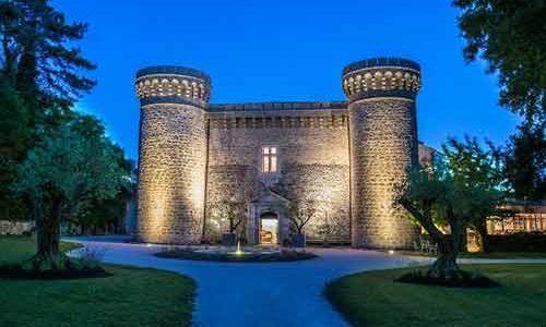 Château de Massillan - Uchaux - De nuit