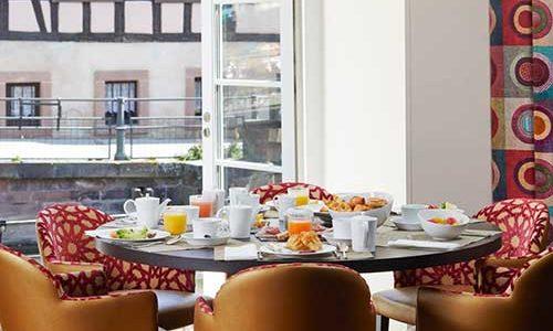 Hôtel Régent Petite France - Petit déjeuner