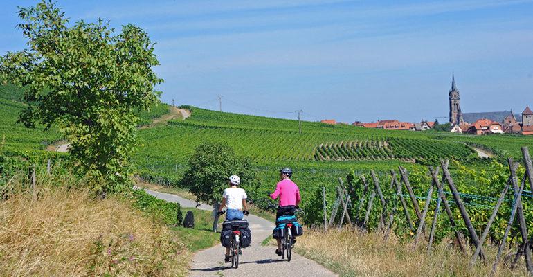 Cyclistes Alsace