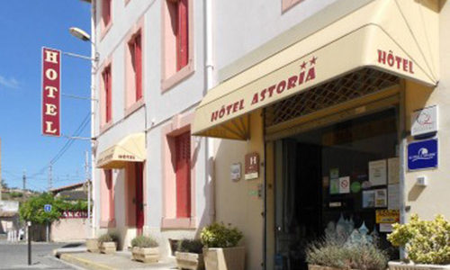façade hôtel Astoria castelnaudary