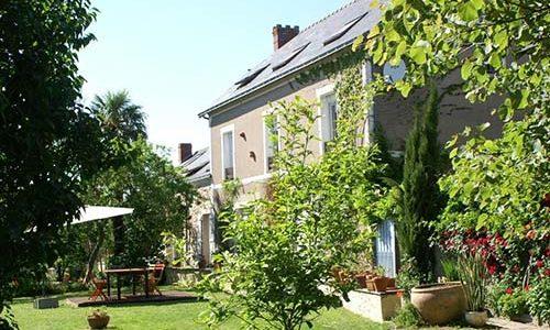 Chambres-d-hotes-Au-bout-de-l-ile-montjean-sur-Loire Coté jardin