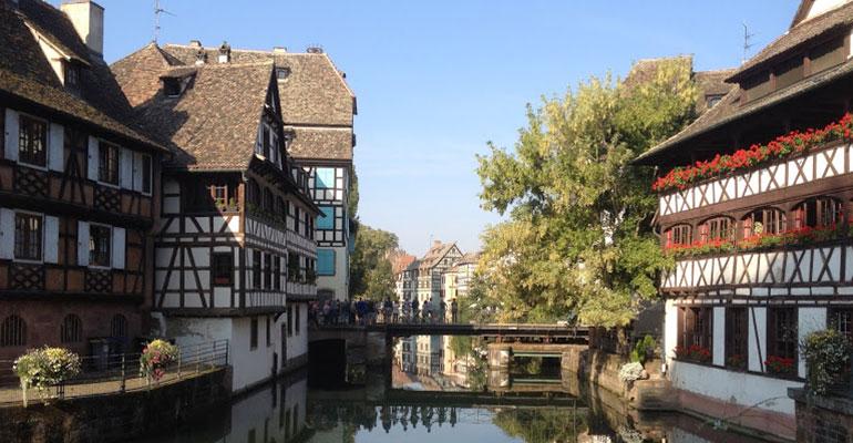Canal alsacien petite France Strasbourg