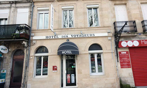 Façade de Hôtel des Voyageur BORDEAUX