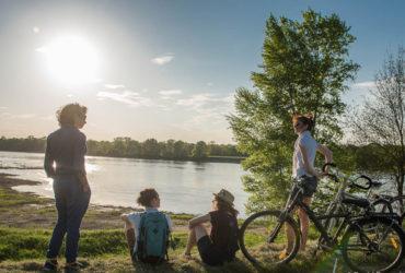 balade bord de loire à vélo Tours