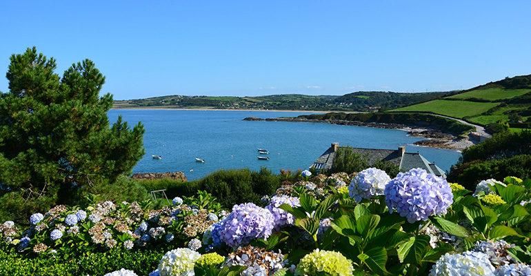 Paysage de la côte du cotentin
