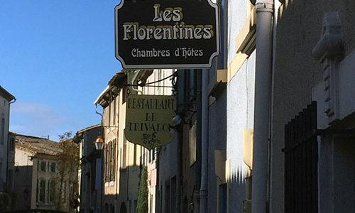 Façade de Chambres d'hôtes Les florentines CARCASSONNE