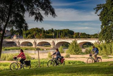 Balade sur la Loire à vélo à Tours