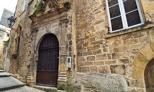 Entrée Chambre d'hotes Maison du Notaire royal à Sarlat