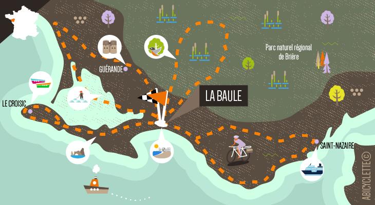 La Vélocéan : la presqu'île de Guérande à vélo
