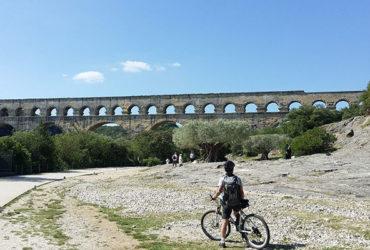 Aqueduc romain à Nîmes