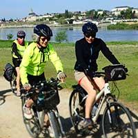 Voyageuses sur la Loire à Vélo