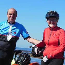 voyageurs témoignent de leur expérience à vélo
