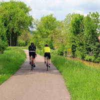 voyage à vélo canaux