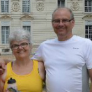couple voyageur à vélo Loire
