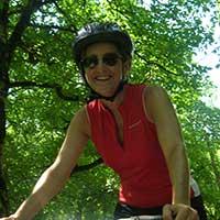 témoignage d'une femme à vélo