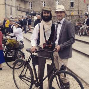 le Tour de Rance Vintage 2016, balade vélo rétro, au départ à Dinan